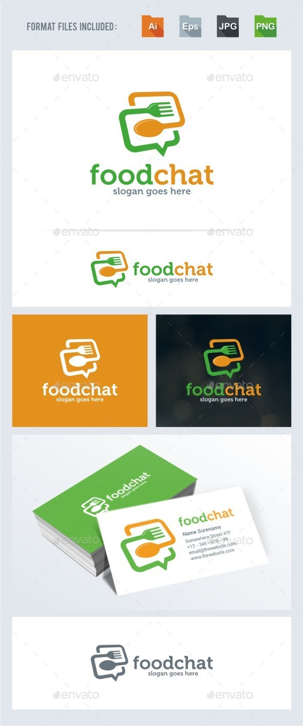 Food Chat Logo
