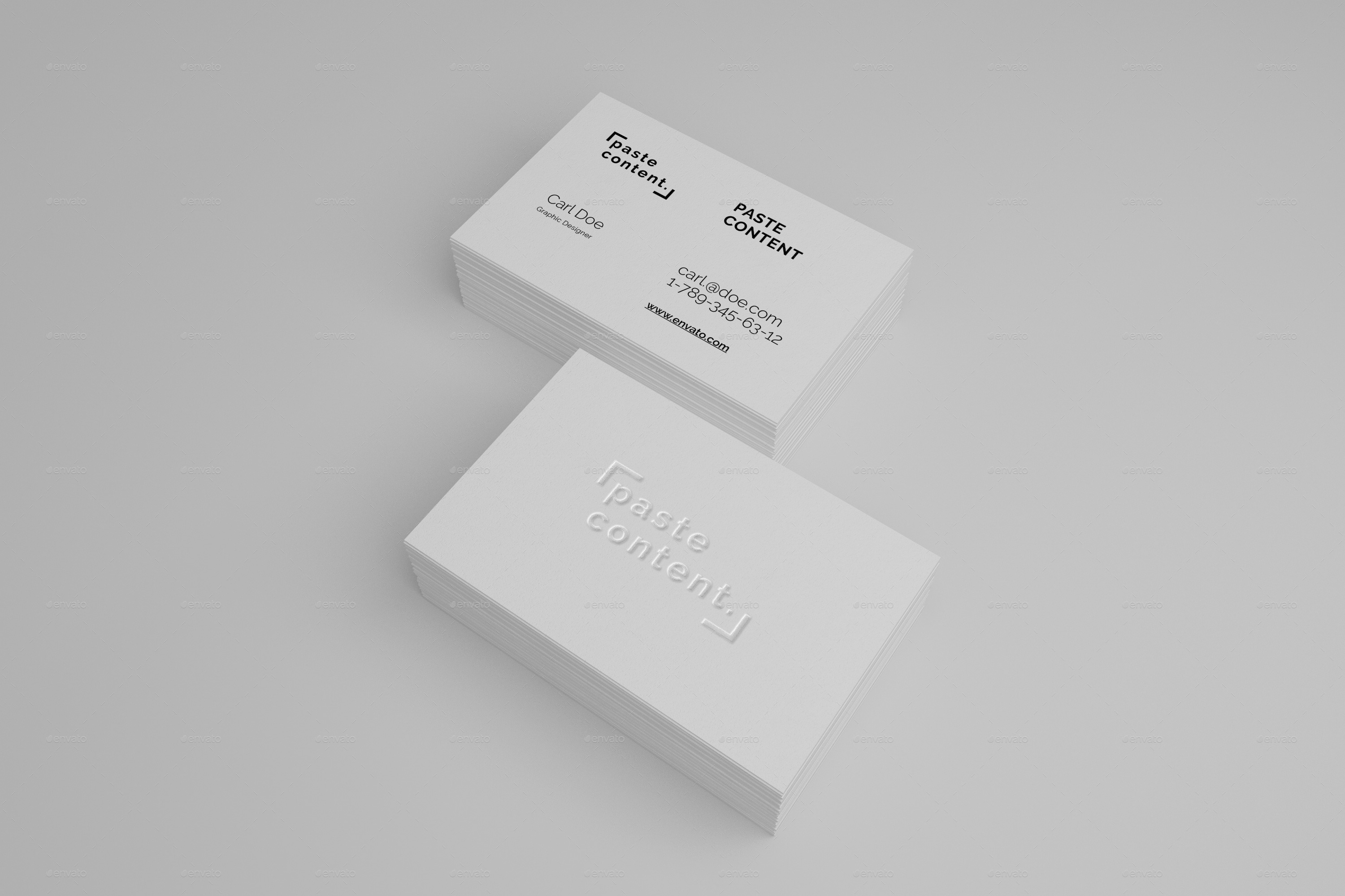 Business Cards Mock-ups Big Pack Vol. 1 by RuslanSh | GraphicRiver