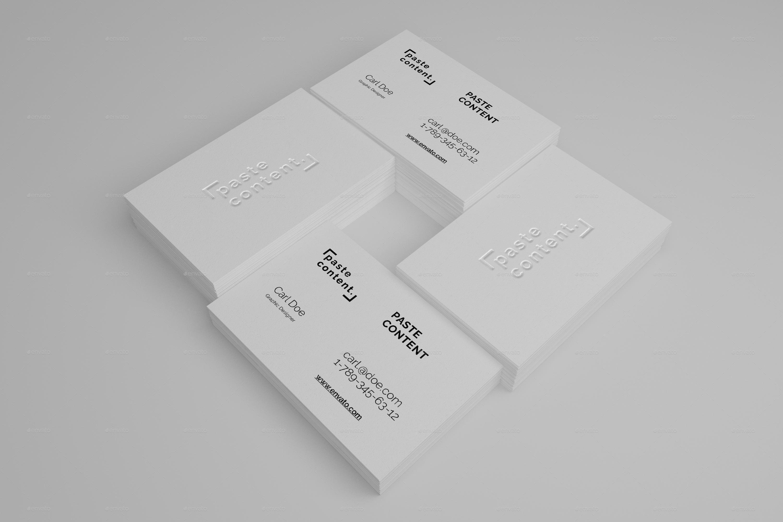 business cards mock ups big pack vol 1 by ruslansh
