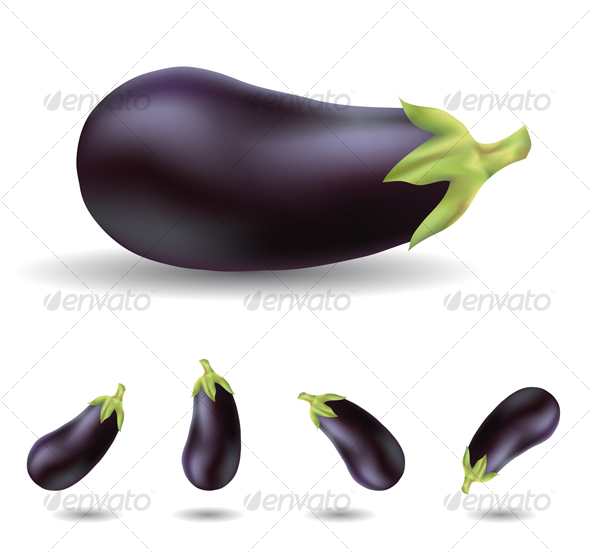 eggplant - Food Objects
