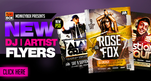 Dj&Artist Flyers