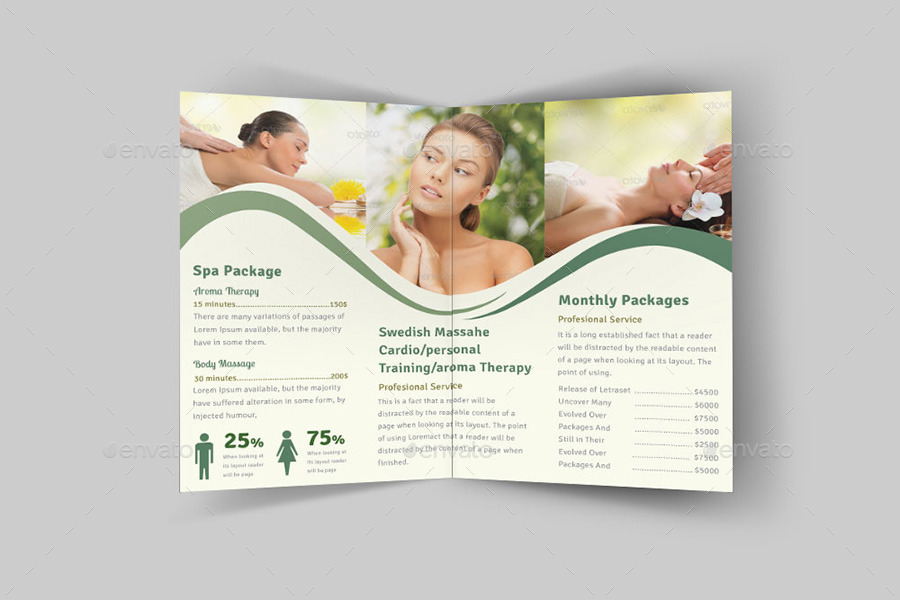 Spa & Beauty Salon Advertising Bundle | Volume 8 by dotnpix ...