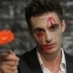 Male Vampire Gives a Flower - VideoHive Item for Sale