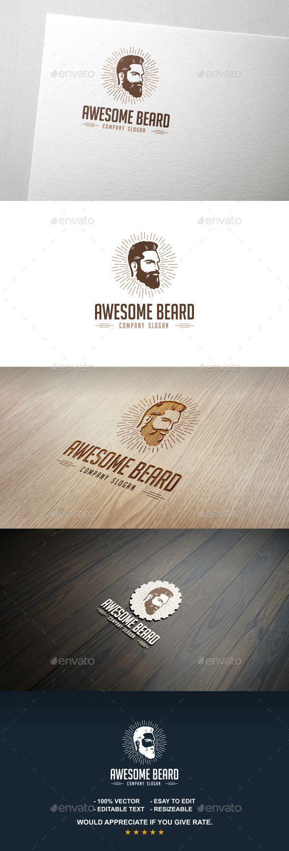 Beard - Letters Logo Templates