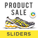 Product Sale Sliders - 2 Designs - GraphicRiver Item for Sale