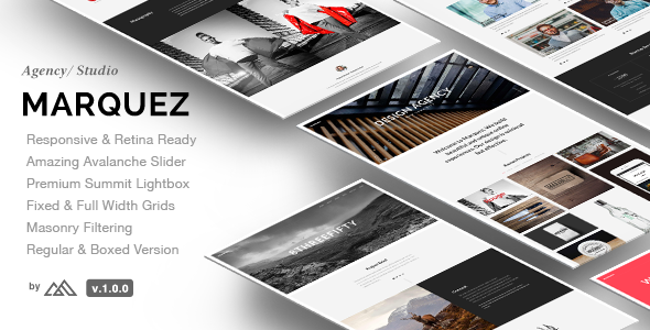 Marquez – A Creative Agency HTML Template
