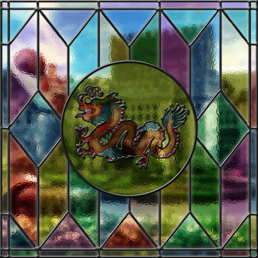 stained glass photoshop
