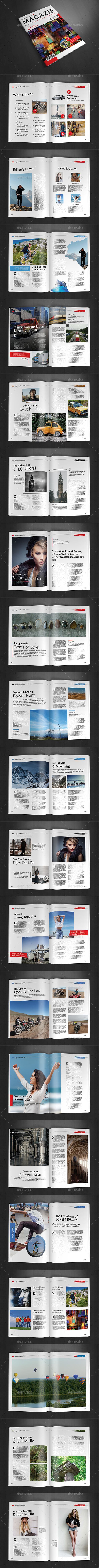A4 Magazine Template Vol 17