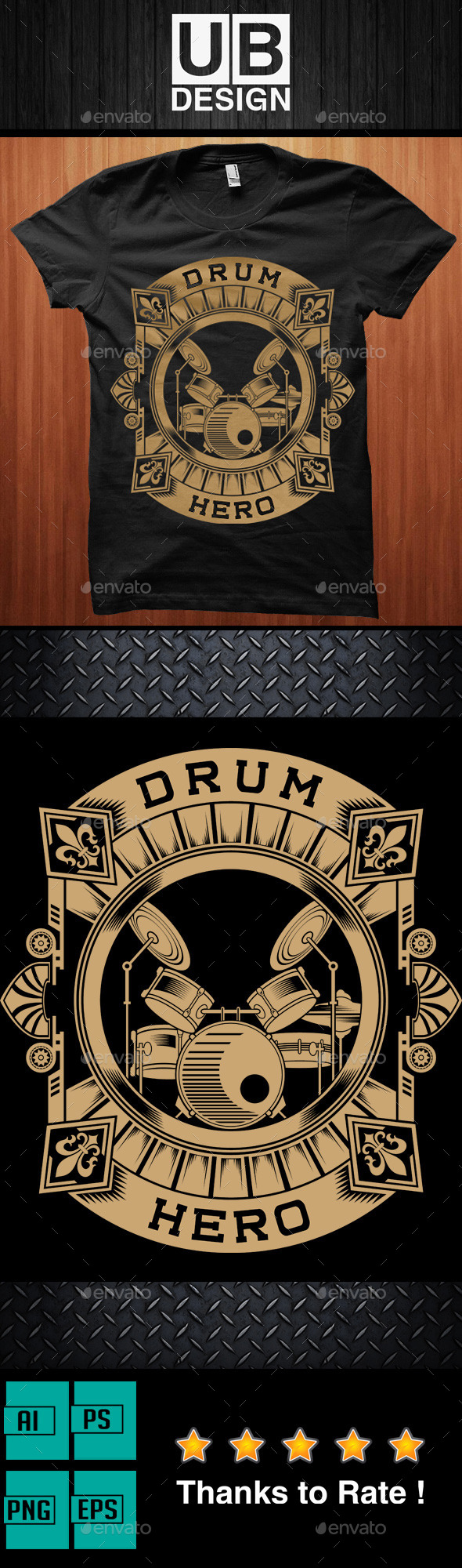 Drum Hero T-Shirt