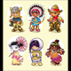Historical Characters - GraphicRiver Item for Sale