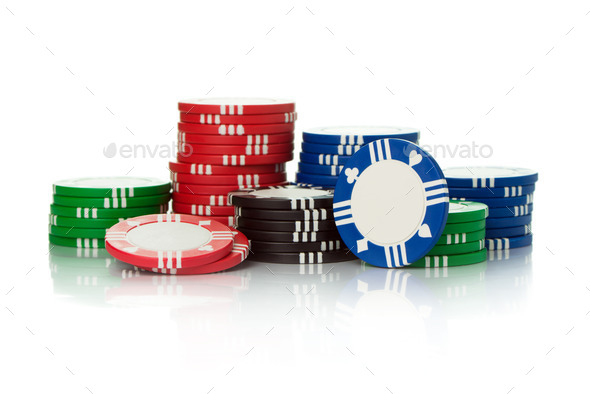 Casino chips - Stock Photo - Images
