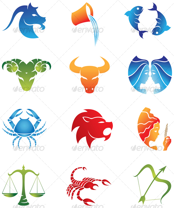 zodiac signs - Miscellaneous Characters