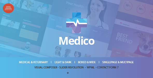 Medico – Medical & Veterinary WP Theme