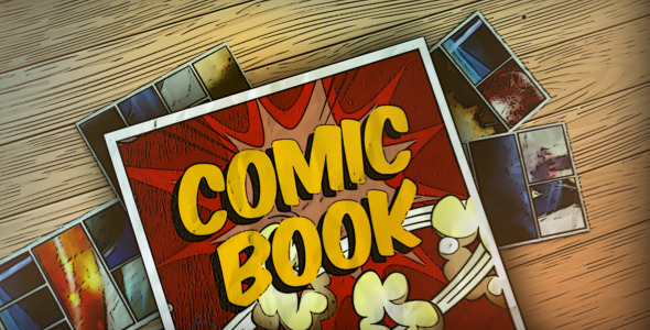 comic book by realthingtemplates videohive. Black Bedroom Furniture Sets. Home Design Ideas
