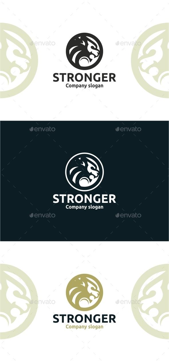 Stronger - Animals Logo Templates