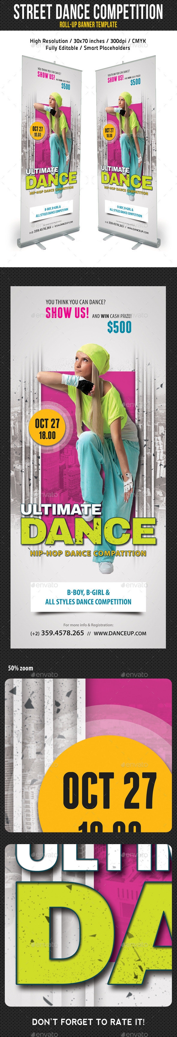 Street Dance Competition Banner