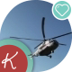 Helicopter Fly Away - VideoHive Item for Sale