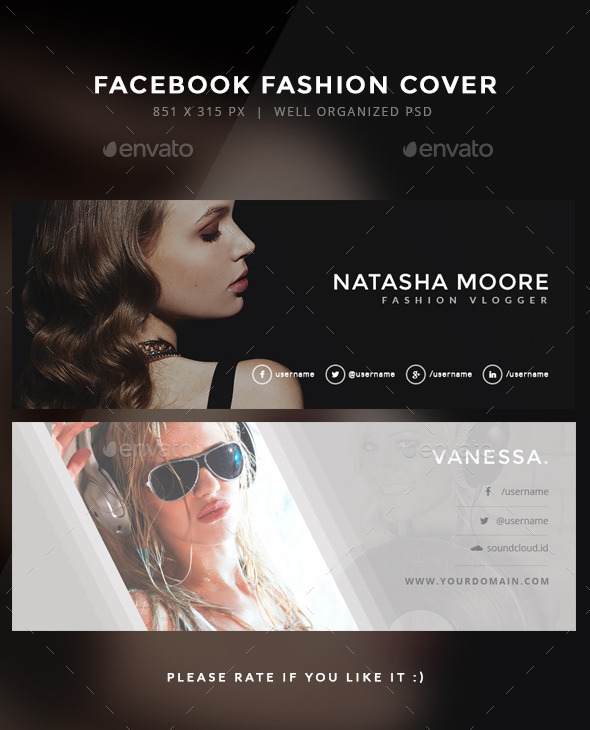 Facebook Fashion Cover Maia