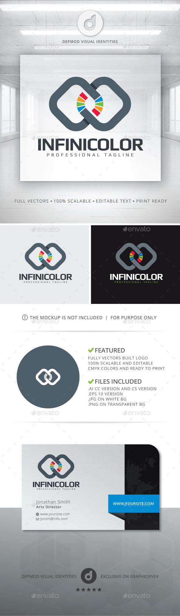 Infini Color - Symbols Logo Templates