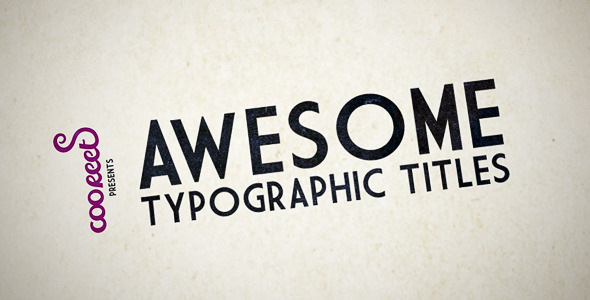 HD Kinetic Typography by cooreets | VideoHive