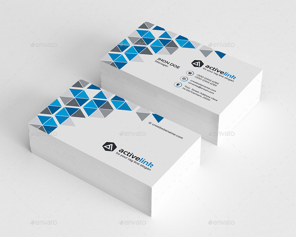 Active Link Business Card by generousart   GraphicRiver