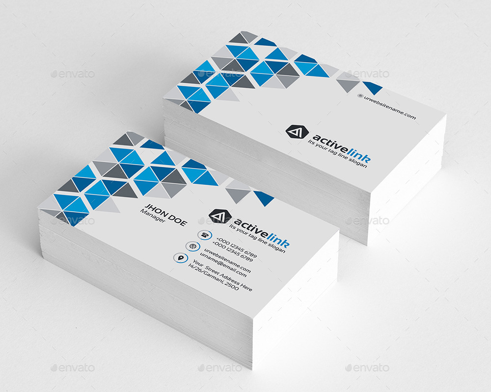 Active link business card by generousart graphicriver preview image set01technology business cardg colourmoves