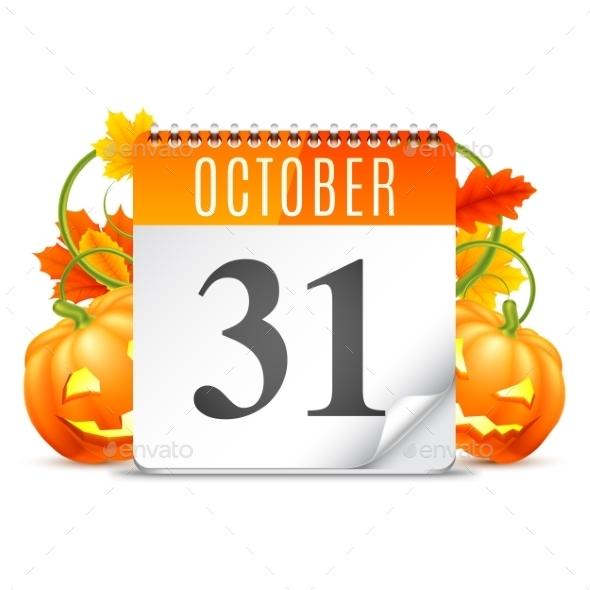 Halloween Calendar - Halloween Seasons/Holidays