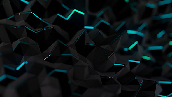 Dynamic Dark Crystals Background 1