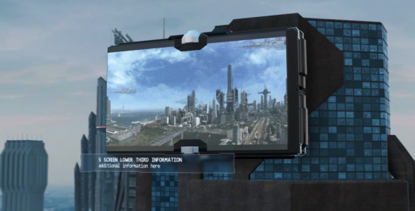 Futuristic City Slideshow