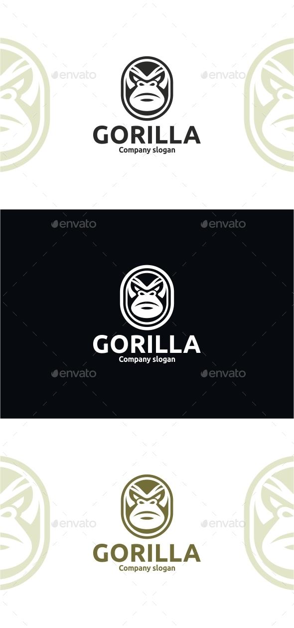Gorilla Logo  - Animals Logo Templates