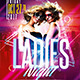 Ladies Night Party | Psd Template - GraphicRiver Item for Sale