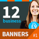 12 High Quality Clean & Professional Banners - GraphicRiver Item for Sale
