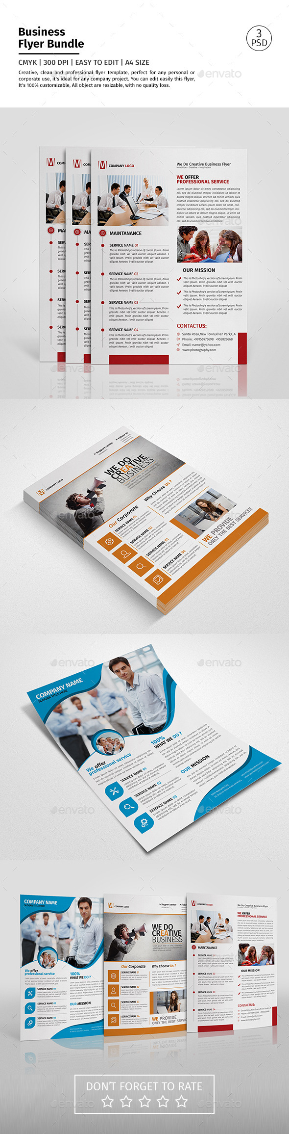Corporate Flyer Bundle 03