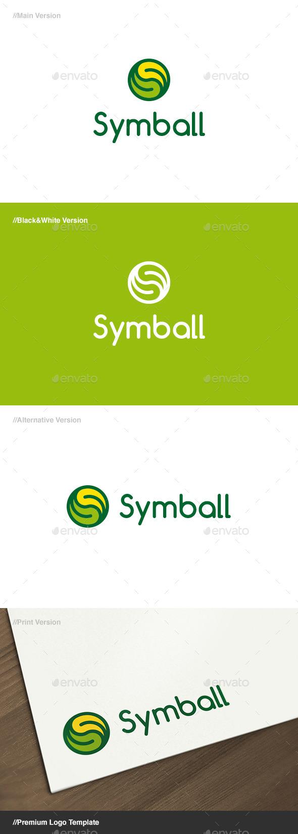 Symball Ball & Symbol Logo