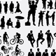 Profession and Activity Silhouettes - GraphicRiver Item for Sale