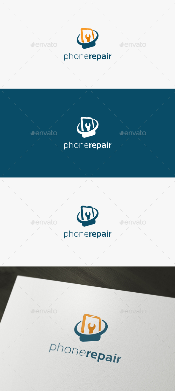Phone Repair - Logo Template - Objects Logo Templates