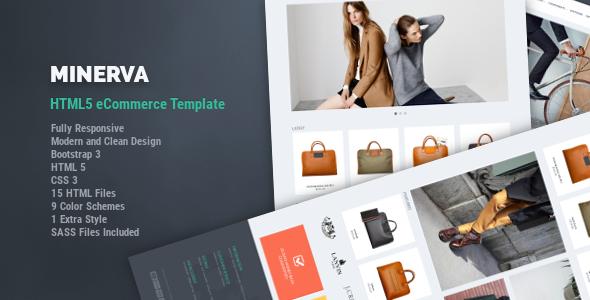 Minerva – eCommerce HTML5 Template