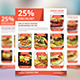 Food Shop Flyer Template - GraphicRiver Item for Sale
