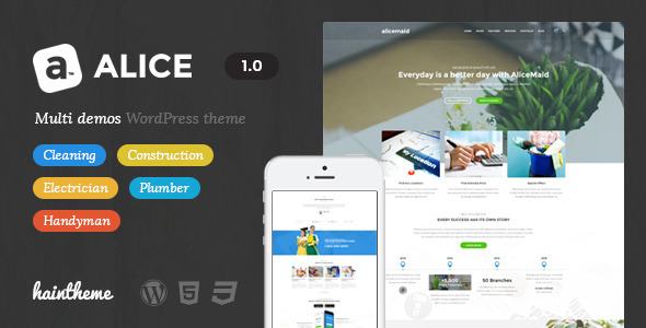 Alice – Multi-Concept Business WordPress Theme