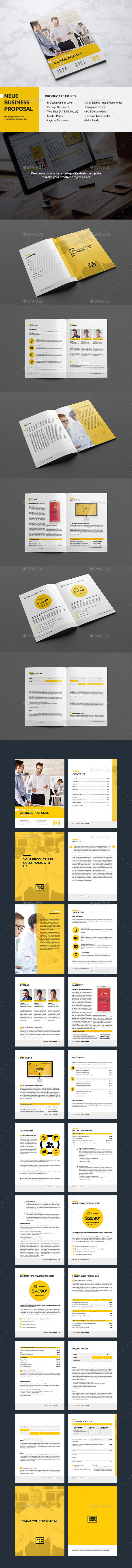 Neue - Website Proposal - Proposals & Invoices Stationery