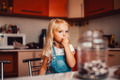 Girl on kitchen - PhotoDune Item for Sale