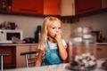 Girl on kitchen - PhotoDune Item for Sale