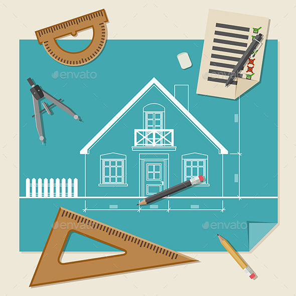 Architectural Background - Buildings Objects