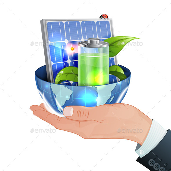 Green Energy Concept - Industries Business