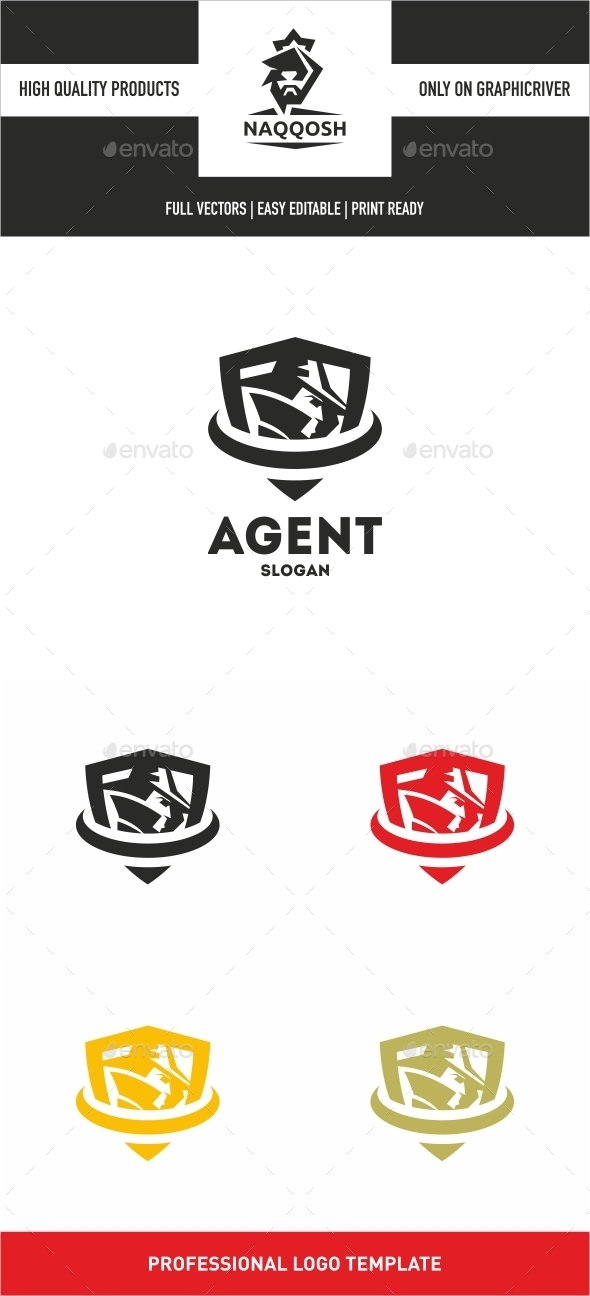 Agent Logo - Abstract Logo Templates