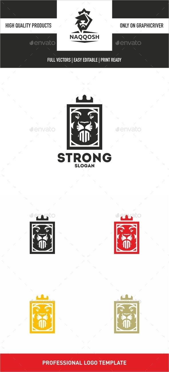 Strong - Animals Logo Templates