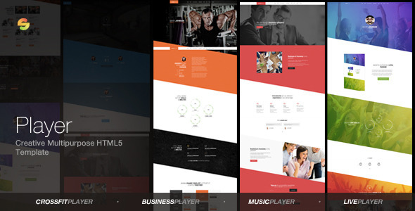 Player -  Creative Multipurpose HTML5 Template