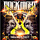 Rock Night Halloween Party Flyer - GraphicRiver Item for Sale