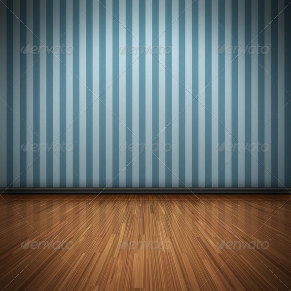 Blue Wall - Backgrounds Graphics