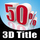 50% - GraphicRiver Item for Sale